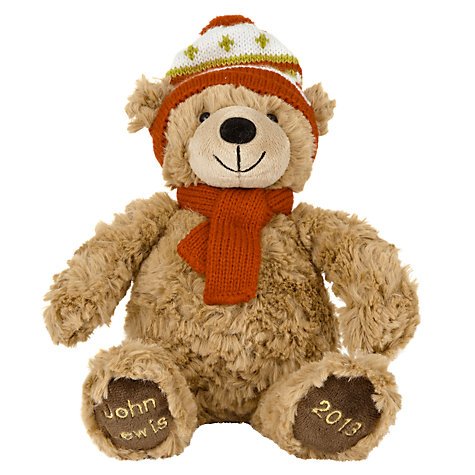 Buy John Lewis Lewis 2013 Bear, Medium Online at johnlewis.com