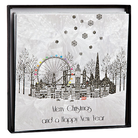 Buy Five Dollar Shake London Scene Christmas Cards, Box of 5 Online at johnlewis.com