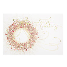 Buy John Lewis Premium Berry Wreath Charity Christmas Cards, Box of 8 Online at johnlewis.com