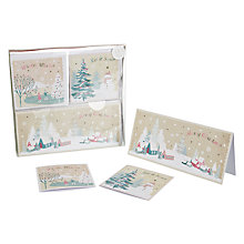 Buy John Lewis Trio Vintage Scenes Charity Christmas Cards, Box of 28 Online at johnlewis.com