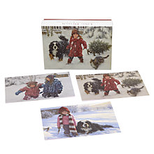 Buy Ling Design Winter Wonderland Christmas Cards, Box of 12 Online at johnlewis.com
