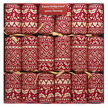 Buy Emma Bridgewater Joy Crackers, Set of 6, Red Online at johnlewis.com