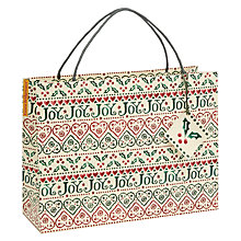Buy Emma Bridgewater Joy Shopper Gift Bag Online at johnlewis.com