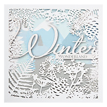 Buy John Lewis Winter Wonderland Laser Cut Charity Christmas Cards, Box of 5 Online at johnlewis.com