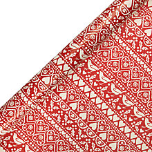 Buy Emma Bridgewater Joy Wrapping Paper, Red, L3m Online at johnlewis.com