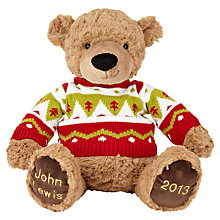 Buy John Lewis Lewis 2013 Bear, Large Online at johnlewis.com