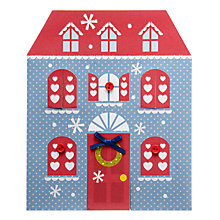 Buy John Lewis Pop Out House Charity Christmas Cards, Box of 5 Online at johnlewis.com