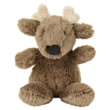 Buy Jellycat Mini Reindeer, Brown Online at johnlewis.com