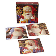 Buy Ling Design Santa Scenes Christmas Cards, Box of 12 Online at johnlewis.com