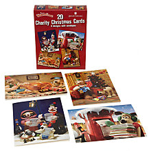 Buy Wallace and Gromit Children Charity Christmas Cards, Box of 20 Online at johnlewis.com