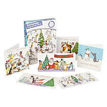 Buy Woodmansterne Wood Battersea Charity Christmas Cards, Box of 24 Online at johnlewis.com