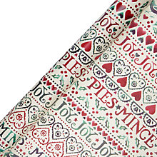 Buy Emma Bridgewater Joy Wrapping Paper, Multi, L3m Online at johnlewis.com