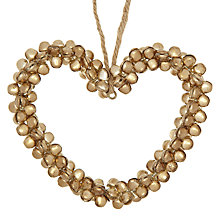 Buy John Lewis Bell Heart Tree Decoration Online at johnlewis.com