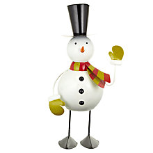 Buy John Lewis Giant Wobbly Snowman Online at johnlewis.com