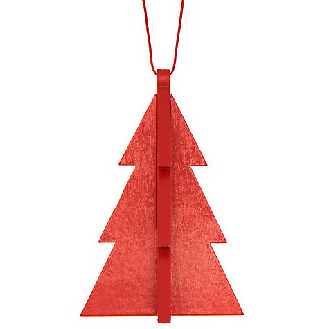Buy House by John Lewis Wooden Tree Decoration Online at johnlewis.com