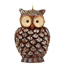 Buy John Lewis Rural Owl Candle Online at johnlewis.com