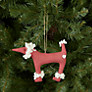 Buy Cambric & Cream Rural Spotty Poodle Tree Decoration Online at johnlewis.com