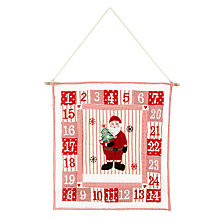 Buy Cambric & Cream Santa Advent Calendar Online at johnlewis.com