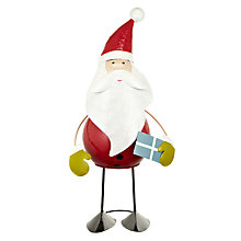 Buy John Lewis Giant Wobbly Santa Online at johnlewis.com