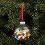Buy House by John Lewis Pom Pom Glass Bauble, Multi Online at johnlewis.com
