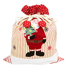 Buy Cambric & Cream Father Christmas Sack Online at johnlewis.com