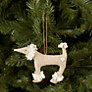Buy Cambric & Cream Rural Linen Poodle Tree Decoration Online at johnlewis.com