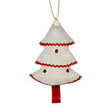 Buy Cambric & Cream Rural Tree Decoration Online at johnlewis.com