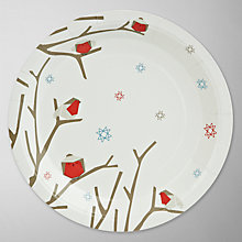 Buy John Lewis Woodland Wonder Paper Plates, Pack of 8 Online at johnlewis.com