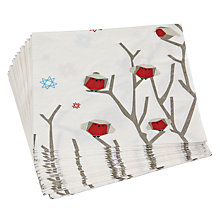 Buy John Lewis Woodland Wonder Paper Napkins, Pack of 20 Online at johnlewis.com