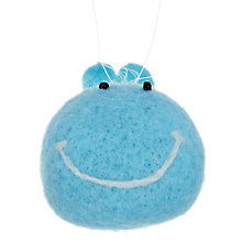 Buy John Lewis Woollen Whale Tree Decoration, Blue Online at johnlewis.com