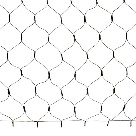 Buy John Lewis Outdoor Battery-Operated LED Net Lights, x120, Cool White Online at johnlewis.com
