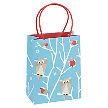 Buy John Lewis Origami Owl Gift Bag, Small Online at johnlewis.com