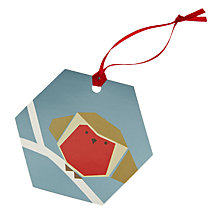 Buy John Lewis Origami Robin Gift Tags, Pack of 8 Online at johnlewis.com