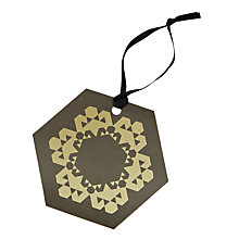 Buy John Lewis Odyssey Snowflake Gift Tags, Pack of 8 Online at johnlewis.com