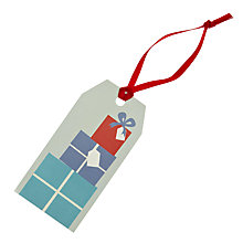 Buy John Lewis Present Stack Gift Tags, Pack of 8 Online at johnlewis.com