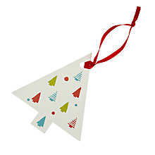 Buy John Lewis Woodland Tree Gift Tags, Pack of 8 Online at johnlewis.com