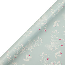 Buy John Lewis Vintage Holly Gift Wrap, 3m Online at johnlewis.com