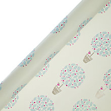 Buy John Lewis Vintage Topiary Gift Wrap, 3m Online at johnlewis.com