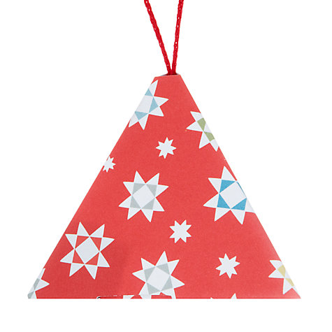 Buy John Lewis Woodland Star Tree Pyramid Gift Boxes, Pack of 4 Online at johnlewis.com