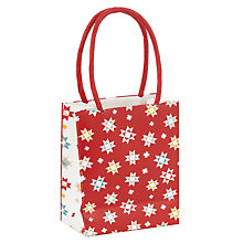 Buy John Lewis Woodland Star Gift Bag, Mini Online at johnlewis.com