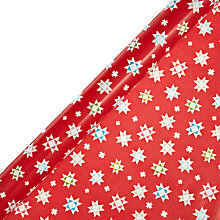 Buy John Lewis Woodland Star Value Gift Wrap, L4m, Assorted Online at johnlewis.com