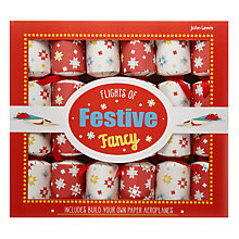 Buy John Lewis Flights of Festive Fancy Crackers, Set of 6 Online at johnlewis.com