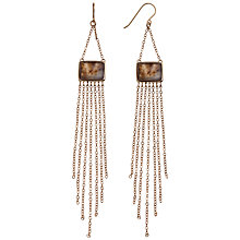 Buy Lola Rose Tennessee Montana Agate Chain Drop Earrings Online at johnlewis.com
