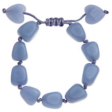 Buy Lola Rose Breanna Powder Blue Quartzite Tumble Bracelet Online at johnlewis.com