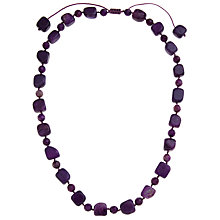 Buy Lola Rose Darcy Fossil Jasper Necklace, Purple Online at johnlewis.com