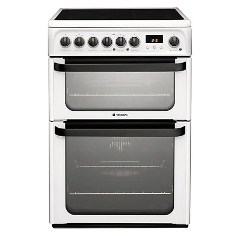 buy hotpoint jle61p signature electric cooker white. Black Bedroom Furniture Sets. Home Design Ideas