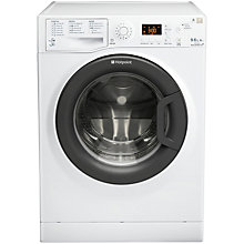 Buy Hotpoint WDPG9640BC Washer Dryer, 9kg Wash/6kg Dry Load, A Energy Rating, 1400rpm Spin, White Online at johnlewis.com