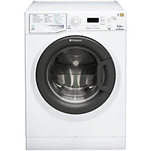 Buy Hotpoint Signature WMEF722BC Washing Machine and TCUD97B6PH Condenser Tumble Dryer Save £100 Online at johnlewis.com