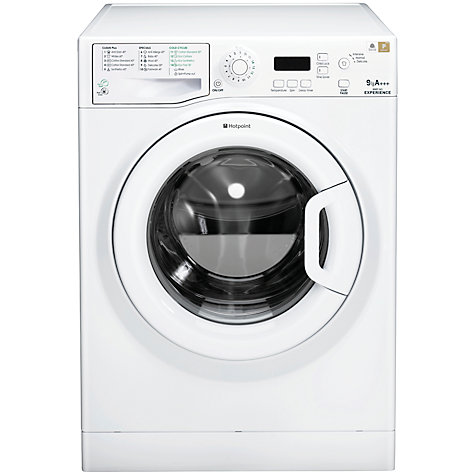 Buy Hotpoint Experience WMEF943P Washing Machine, 9kg Load, A+++ Energy Rating, 1400rpm Spin, White Online at johnlewis.com