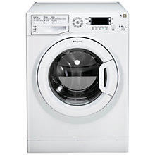 Buy Hotpoint WDUD9640P Washer Dryer, 9kg Wash/6kg Dry Load, A Energy Rating, 1400rpm Spin, White Online at johnlewis.com